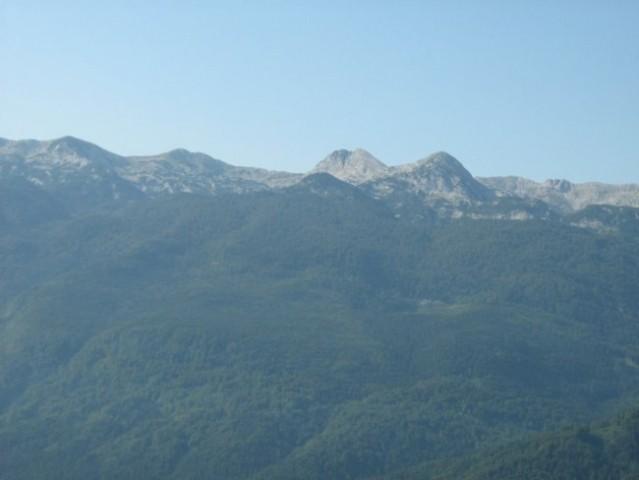 Bohinjske gore.