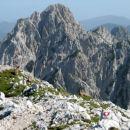 Kozorogova familija na vrhu Turske gore.