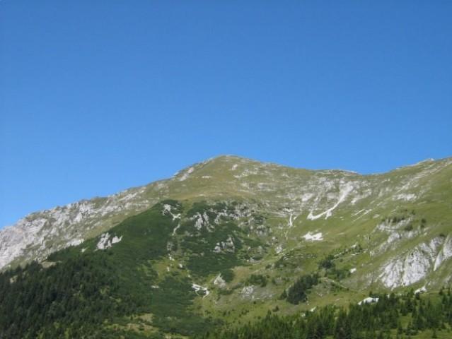 Veliki vrh izpred Kofc.