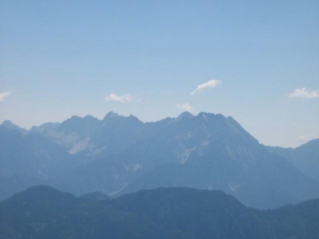 Kamniške alpe.