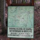 Priporočilo obiskovalcem Blegoša, da se proti vrhu odpravijo peš.