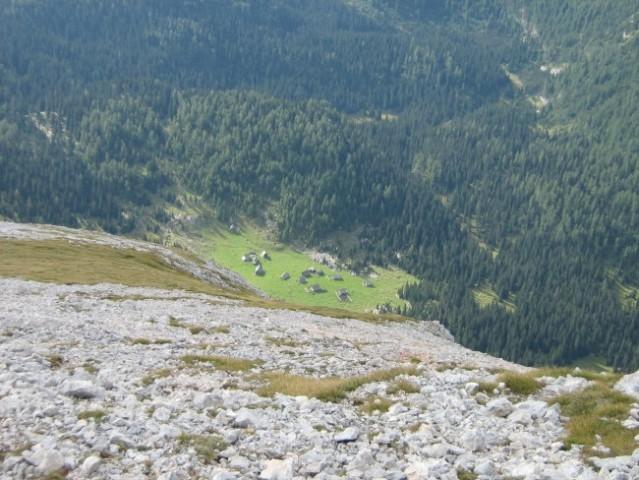 Planina Laz iz ptičje perspektive.