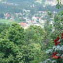 tukaj pa vam ponujam razgled na Ruše iz mojega balkona