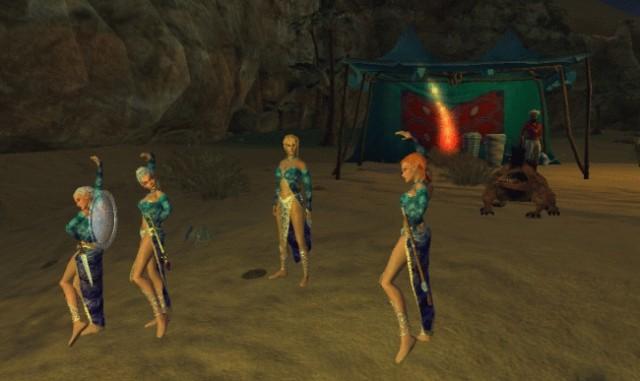 Pathfinder girls dancing and ...