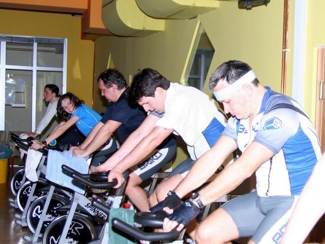 2009 0124 Spinning v Spartacusu v M. Soboti - foto