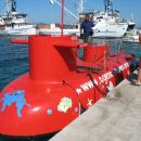 podmornica z kerof smo se pelali...