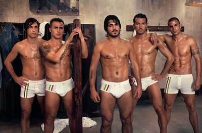 Italjansko nogometno moštvo - foto
