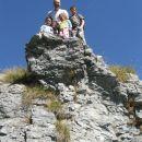 na vrhu skal