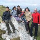 Naša družinica - Aljoša Manca, Tilen, Nande, Janja in Andrej