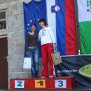 1. Polona Batagelj in 2. Jerneja Tratnik