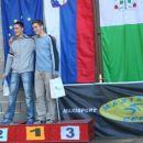 1. Luka Kalan, 2. Franc Habe in 3. Matevž Brecelj