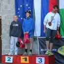 mlajši učenci: 1. Jakob Jesih, 2. Martin Rus in 3. Ciril Zupan (prevzel trener)