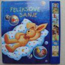 Feliksove sanje, zvočna knjiga, še v celofanu, cena 9 eur