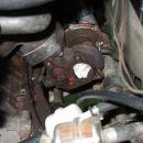 Tukaj se vidi narobe obrnjene priključke za olje.... spet bo treba razdret turbino in vse