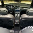 Mercedes cabriolet CLK - notranjost
