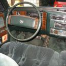 Cadillac Fleetwod Brougham - notranjost