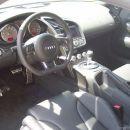 Audi R8 - notranjost