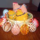 Velikonočna jajčka in kokoši