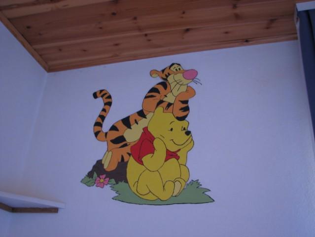 Slikanje na steno - foto