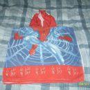 Spiderman brisača s kapuco 4 eur