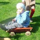 Odkril sem voziček in ga dal v uporabo drugim...