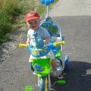 Js imam pa nov tricikel!!! Ha- ha!!!!