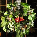 božični venec 1