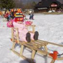 Kobla - jupi, prvič na snegu