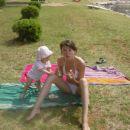 z mamico malicava na plaži