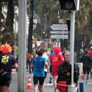 tekači na malem maratonu