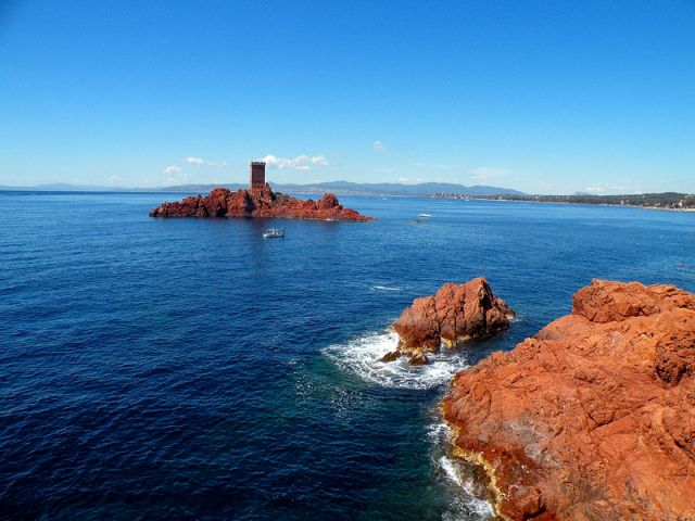 Azurna obala - foto