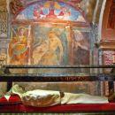mumificiran ustanovitelj samostana