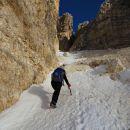 ugodne razmere kljub pomanjkanju snega