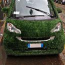 zelenček, elektro avtomobil na polnjenju