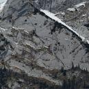 tudi v južni steni zapotoškega vrha bi šlo