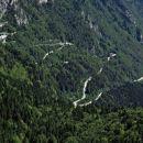 serpentine proti prelazu monte croce carnico