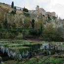 etruščansko pokopališče pod orvietom