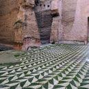 ostanki mozaika v termah