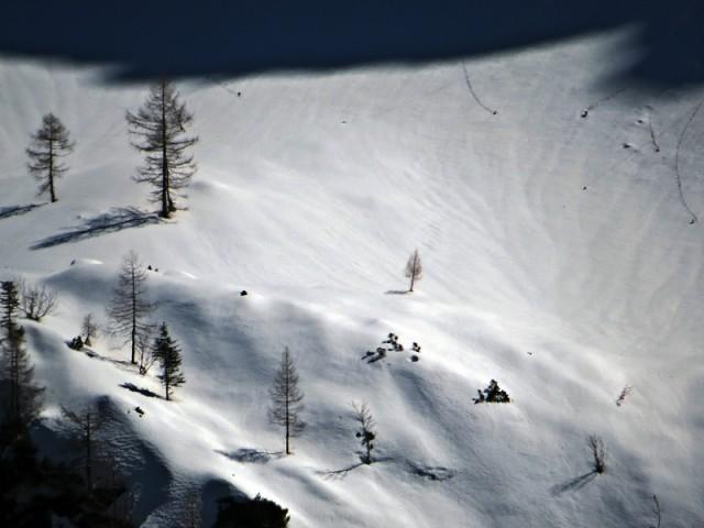 Sneg še vedno kraljuje
