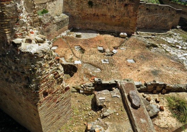 Brez rimskih ostalin seveda ne gre