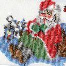 Božiček odzadaj