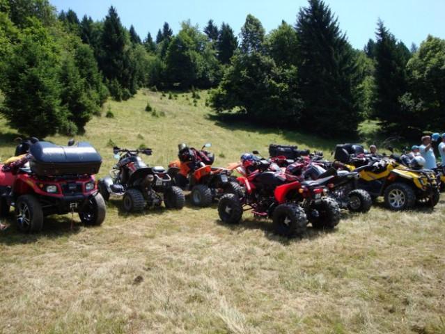 Polka motocross piknik - foto