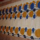 blagoza zavese(vzorec se 3krat ponovi v širini blaga) ODDANO