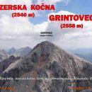 KOČNA (2540m) in GRINTAVEC (2558m)