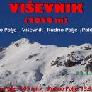 VIŠEVNIK, 2050 m - 12.1.2014