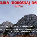 VELIKA (Koroška) BABA, 15.11.2015