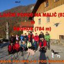 MALIČ (936 m) in ŠMOHOR, 13.12.2015