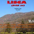 LISCA, 948 m, 31.12.2015