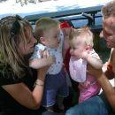S Kajo in njenima staršema
