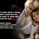 Courtney Love in Frances Bean Cobain
